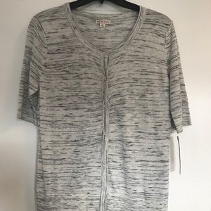 Brand new, Merona short sleeve grey sweater